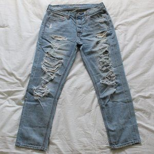 American Eagle Vintage High Rise Mom Jeans